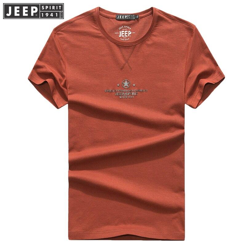 JEEP SPIRIT 2018 Nueva camiseta de manga corta para hombres Color - Ropa de hombre