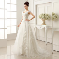 Ever Pretty Vestidos De Noivas Sweetheart White Floor Length Luxury Wedding Dresses 2014 Sexy Backless Brides