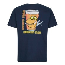 Weird Fish Beered Fish Artist T-Shirt  Funny Tops Tee New Unisex Funny High Quality Casual Printing 100% Cotton free shipping цена