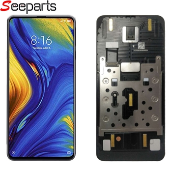 """Xiaomi Mi Mix 3 LCD Mix3 Display Touch Screen Digitizer Assembly With Frame For 6.3"""" Xiaomi Mi MIX3 LCD Black Replacement"""