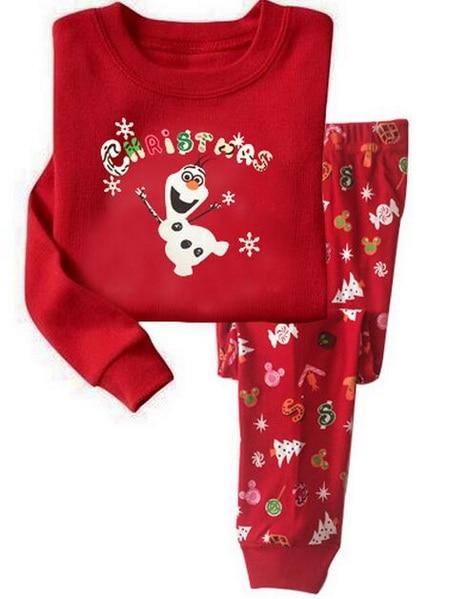 new christmas pajamas children pajama for girls 2 7 years girls sleepwear baby pyjama set toddler boys girls clothing set lpj12 in clothing sets from mother - Toddler Christmas Pajamas