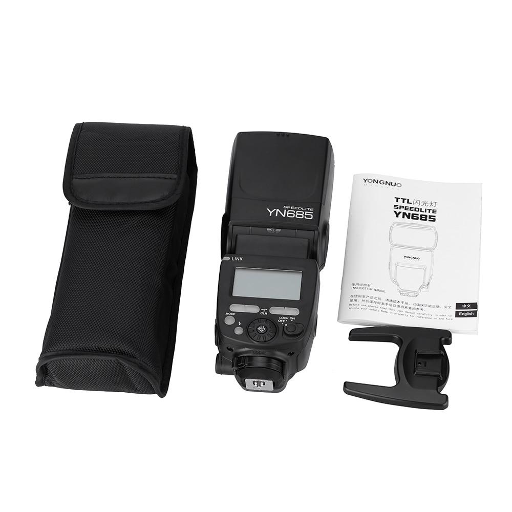 YONGNUO YN685 E TTL HSS 1/8000 s GN60 2.4g беспроводное устройство Вспышка Speedlite вспышка Speedlight триггера приемник для вспышки цифровой зеркальной камеры Canon