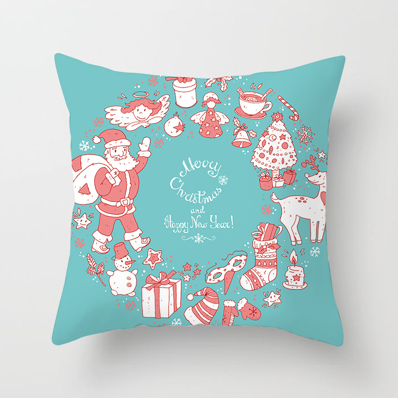 Merry Christmas Decorations For Home Decoration Noel 2018 Christmas Ornaments Christmas 2018 Decor Pillow Case Gifts Xmas Decor  (17)