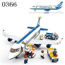 Envío libre Avión de juguete Modelo de Avión AirBus Building Blocks establece Ladrillos DIY Juguetes Clásicos Compatibles con Legeod avión