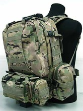Backpack double-shoulder male Women 50l package army tactical combination package travel travel large big backpack hunting