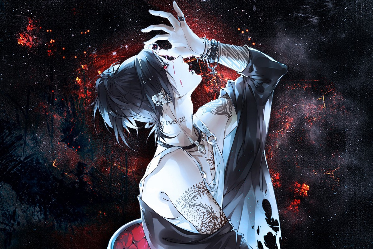 Tokyo Ghoul Uta PDM844 wall art canvas fabric poster custom print for room decor home decoration (frame available)