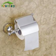Бесплатная доставка Высокое Качество Хром Польский Ванной Держатель Для Туалетной Бумаги