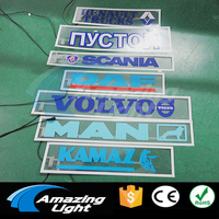 10pcs Design 70pcs Lot El Panel Electroluminescent BackLight Sticker El Lamp Led Brand Logo Sticker With
