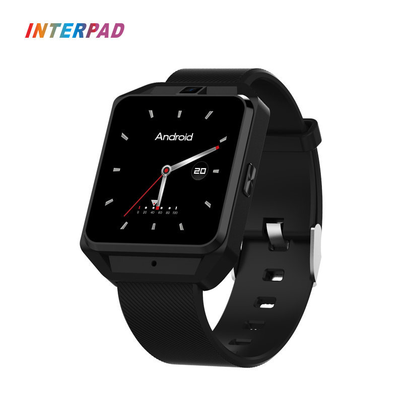 2018 New Interpad I-M5 Smart Watch Android 6.0 4G GPS WIFI 5.0MP MTK6737 With Compass Thermometer Heart Rate Tracker Smartwatch no 1 d5 bluetooth smart watch phone android 4 4 smartwatch waterproof heart rate mtk6572 1 3 inch gps 4g 512m wristwatch for ios
