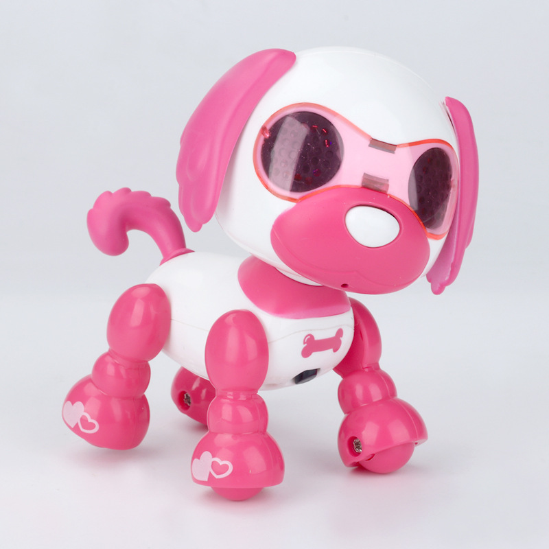 Robot Dog Electronic Dog Walk Shake Head Snore Recording LED Touching Sensitive Electronic Pet Toys For Children Birthday Gifts