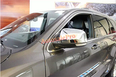 2d76e9b9 ABS cromado side Mirror cover TRIM 2 unids para jeep grand cherokee 2011  2012 2013 2014 2015