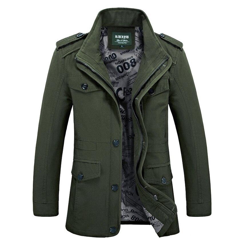 Livraison gratuite nouvelle marque printemps hommes nouvelle veste d'affaires mâle coton lâche longue veste Herren Baumwolle casier à langer manteau 99