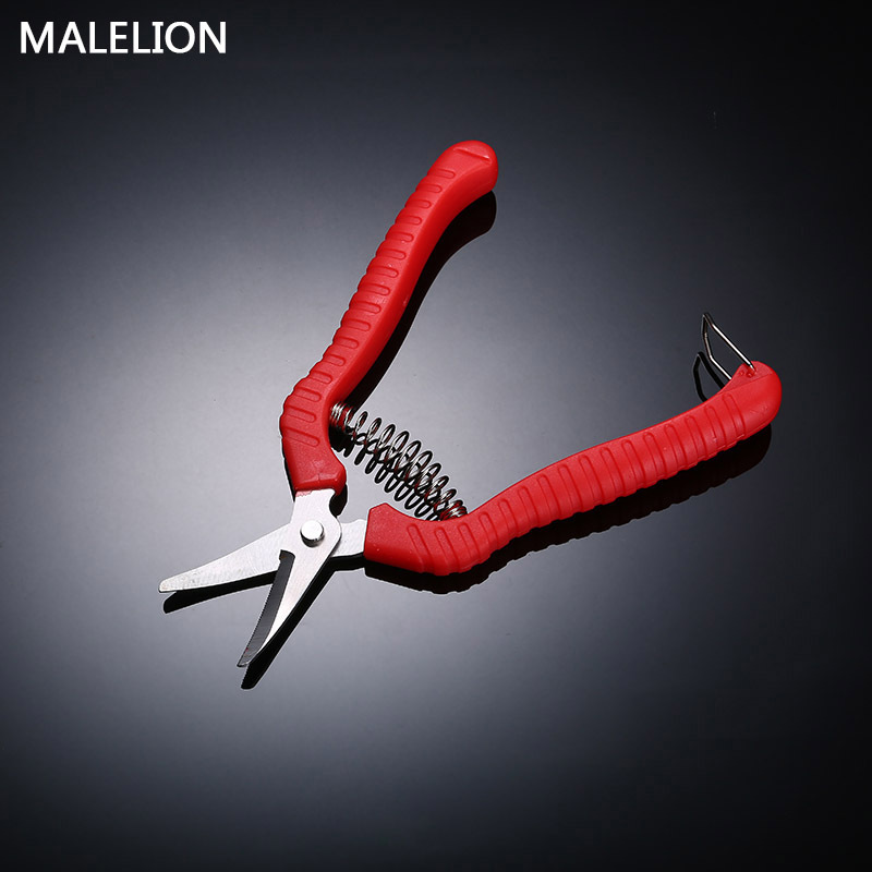 MALELION Gardening Trimming Short Mouth Scissors Orchard Stainless Steel Thin Fruit Cutting Home Garden Tools