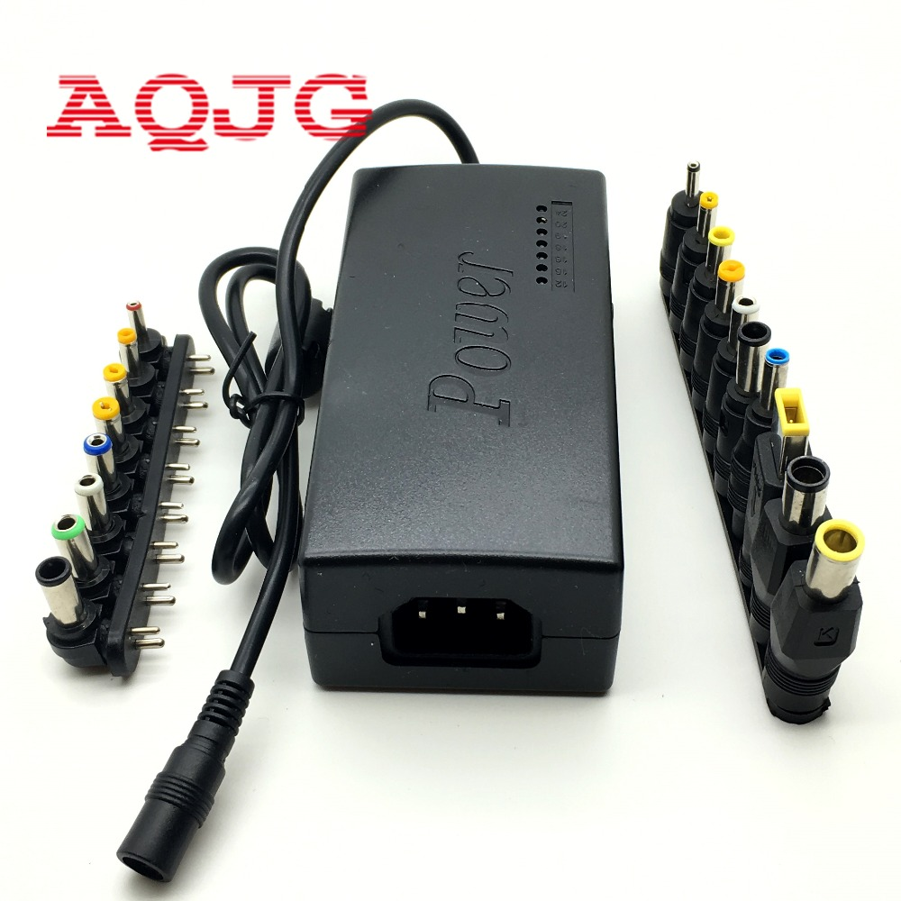 DC 12V/15V/16V/18V/19V/20V/24V 96W Laptop AC Universal Power Adapter Charger for ASUS Laptop With 18pcs 5.5* DC jack  AQJG runco v 50hd
