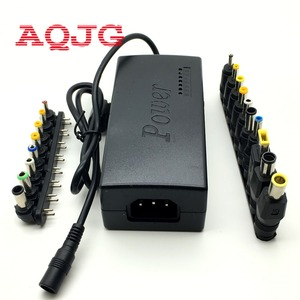 DC 12V/15V/16V/18V/19V/20V/24V 96W Laptop AC Universal Power Adapter Charger for ASUS Laptop With 18pcs 5.5* DC jack AQJG