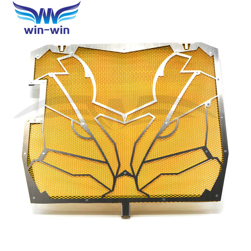 yellow  Motorcycle Radiator Grille Guard Cover Protector  For KAWASAKI NINJA ZX-10R ZX 10 R ZX 10R ZX10R   2011 2012 2013 2014 motorcycle radiator protective cover grill guard grille protector for kawasaki ninja zx6r 2009 2010 2011 2012 2013 2014 2016