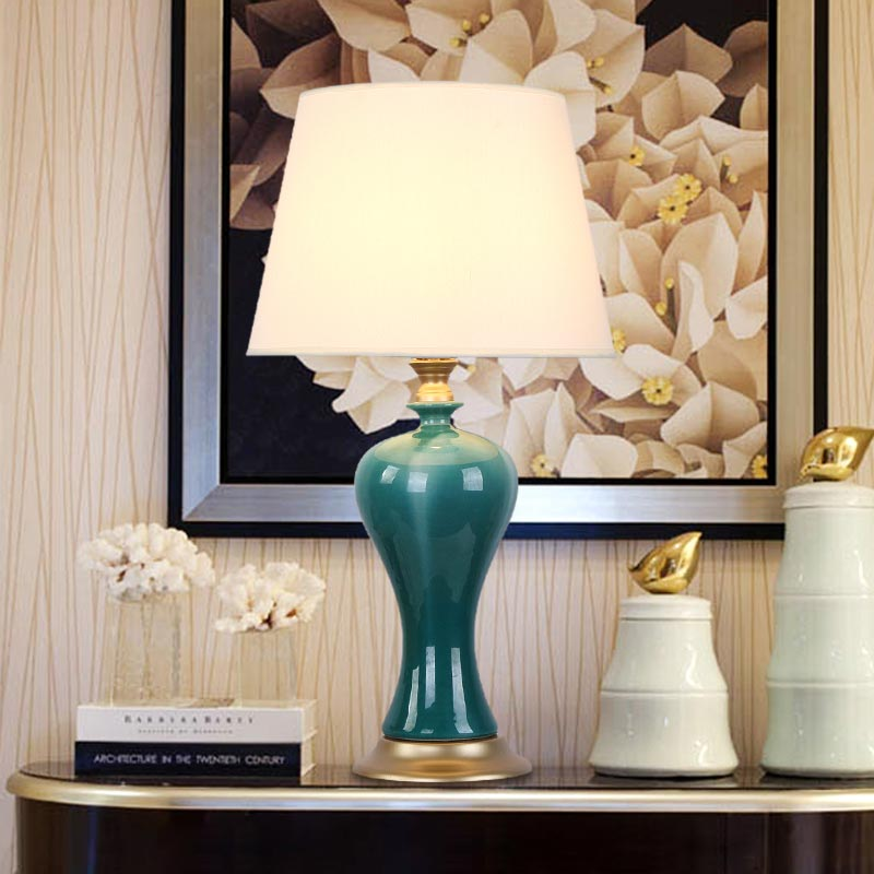 Modern Porcelain Table Lamp Bedside Ceramic Lamp Living Room Bedroom Home Lighting Blt010 In