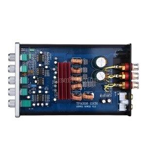 Image 5 - Цифровой усилитель мощности Douk Audio Mini, 2,1 каналов, TPA3116, Hi Fi стерео аудио усилитель басов, сабвуфер 2 × 50 Вт + 100 Вт