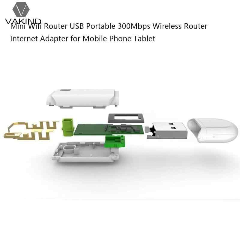 Mini Router Wifi portátil 300Mbps inalámbrico USB Wi fi repetidor amplificador adaptador de Internet rango de señal de red amplificador expansor