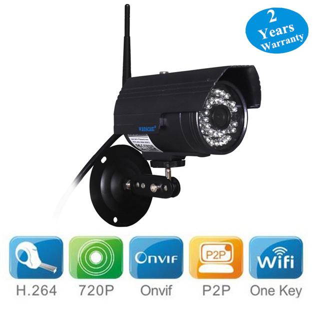 WANSCAM HW0027 E-mail de Alerta de Detecção de Movimento ONVIF P2P PNP Câmera IP H.264 Câmera 1.0MP 720 P HD Sem Fio Wi-fi Gratuito Software