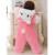 Engrosamiento de invierno Más Cálido Con Capucha Bebé Del Mono de Los Mamelucos En General Traje de Pijama de Franela De Algodón + Ropa de Bebé Infantil Promoción