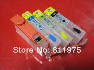 Image 4 - פריחה 920XL 920 מחסנית דיו Refillable עבור HP Officejet 6000 6500 6500A 7000 7500A + עבור hp Premium 4 צבע צבע דיו 400 ML