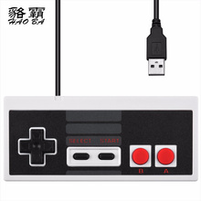 HAOBA Classic USB Plug NES wired handle controller PC/USB/nes computer game handle Retro handle USB NES Controller