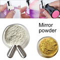Gold Sliver Shinning Magic Chrome Mirror Powder Metal Mirror Colors Glitter Effect Nails Art Decoration Pigment Tool