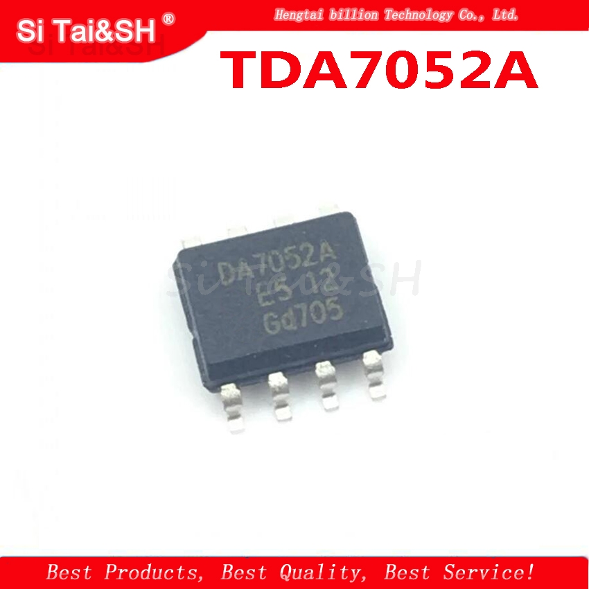 5pcs NEW TDA7052AT DA7052A SOP8