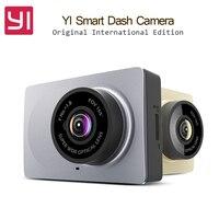 Original International Edition Xiaomi YI Smart Car DVR WiFi Xiaoyi Dash Camera 165 Degree ADAS 1080P