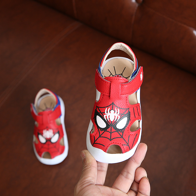 Children Shoes Boys Sandals 2017 New Design Summer Cartoon Fashion Girls  Shoes Kids Shoes Cute Summer Sandals For Boys EU 21 30 In Sandals From  Mother ...