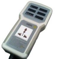 EU/AU/UK/US Plug HP 9800 Handheld Power Meter Power Analyzer HP9800 LED Metering Socket Measurable Current voltage Power Factor