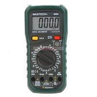 MASTECH MY65 Digital Multimeter DMM AC/DC Voltmeter Ammeter Ohmmeter w/Capacitance Frequency & hFE Tester Professional Meter