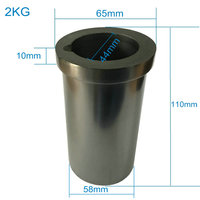 Graphite Crucible 2 KG Metal Melting Gold Silver Scrap Casting Mould New