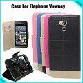 Elephone Vowney Case New 5 Colors tampa do preço de fábrica para Elephone Vowney dedicado couro Flip Case frete grátis gota