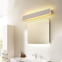 Modern LED Vanity light Wall Lamp Indoor Bedroom Mural Mirror Lighting Bathroom Wall Lamp Sconce Home Fixtures Wall Lights