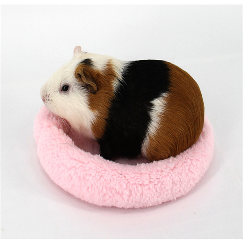 Hamster Bed House Mat Cages Guinea Pig Blanket Hamster Bed Small Cat Birds Mat Soft Pad Hamster Rabbit Small Animals Tiny Pet