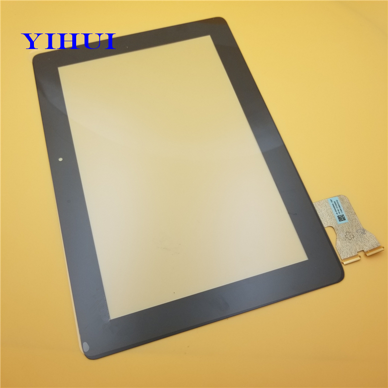 YIHUI 10Pcs/lot For Asus MeMo Pad FHD ME301 ME302 ME302C ME302KL K005 K00A Touch Screen Digitizer Glass Version Parts Black new 10 1 inch version touch screen panel digitizer for asus memo pad fhd 10 me302 me302kl me302c k005 k00a free shipping