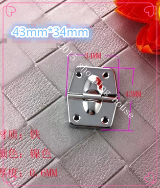 Furniture / Cabinet / Box Small Hinge For Wooden Luggage Bags Angle Aluminum Box Hinge