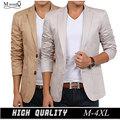 Новый стиль дизайн осень мода для мужчин пиджак men хлопок slim fit мужской пиджак классический пиджак для мужчин