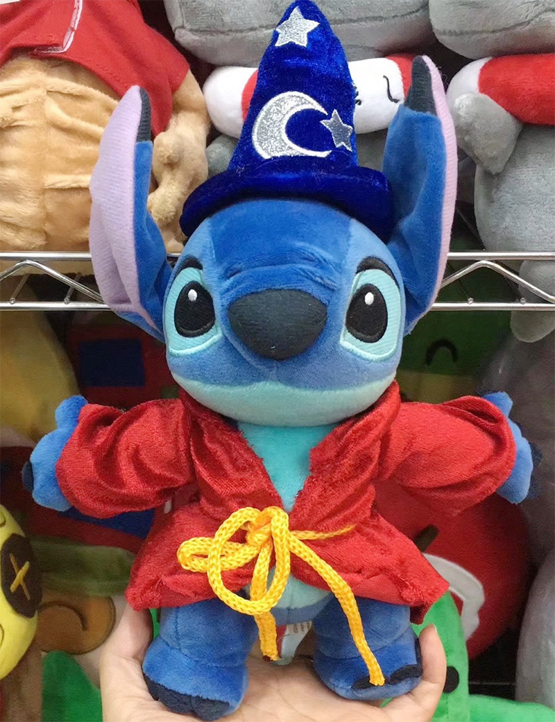 Cute Lilo Stitch 626 Magician Soft Stuffed Plush Toy Doll Girl Friend Children Birthday Gift lilo and stitch toy 626 experiment 4 hands stitch plush figure doll 22cm cute stuffed animals baby kids toys for children gifts