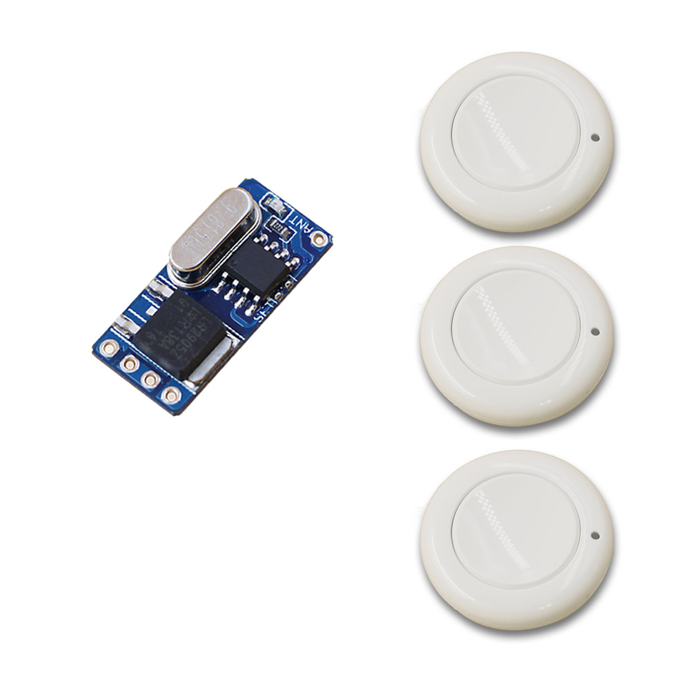DC3.7V 4.2V 5V 6V 9V 12V Wireless Remote Control Switch Mini Size No Voice Remote Cotrol Switch 315/433 Momentary Toggle Latched 315 433mhz 12v 2ch remote control light on off switch 3transmitter 1receiver momentary toggle latched with relay indicator