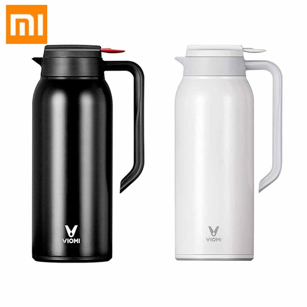 Xiaomi VIOMI 1.5L Thermos Cups Mijia Stainless Steel Vacuum Thermos Bottle 24 Hours Flask Portable Insulation Water Kettle