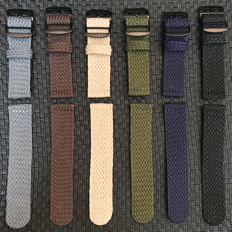 Nylon Woven Watch Band Colorful Replacement Buckle Strap For Perlon watchband 20 22mm for Xiaomi Huami Amazfit Pace Bracelet 22mNylon Woven Watch Band Colorful Replacement Buckle Strap For Perlon watchband 20 22mm for Xiaomi Huami Amazfit Pace Bracelet 22m