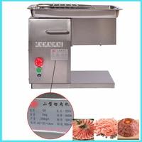 220 v/110 v QX Edelstahl Fleisch Slicer fleisch schneiden maschine Desktop Fleisch Cutter Maschine 550 watt
