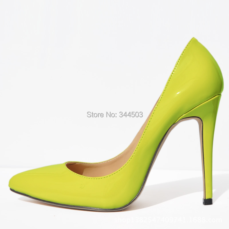 11cm Wholesale Low Price New Fashion Pumps For Womens Pointed Toe Stilettos Shoes Super High Heels Vogue Party Shoes EUR 35-42