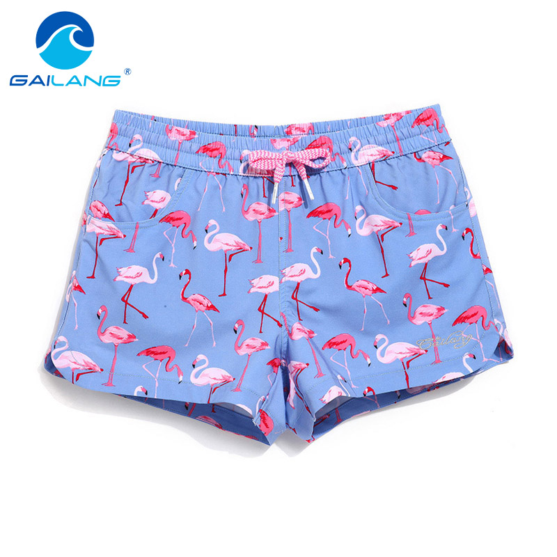 Gailang Brand Woman   Shorts   Boardshorts Casual Board Boxer Trunks Swimwear Swimsuits Slim Fit Lady Mini Fashion   Short   Boxer