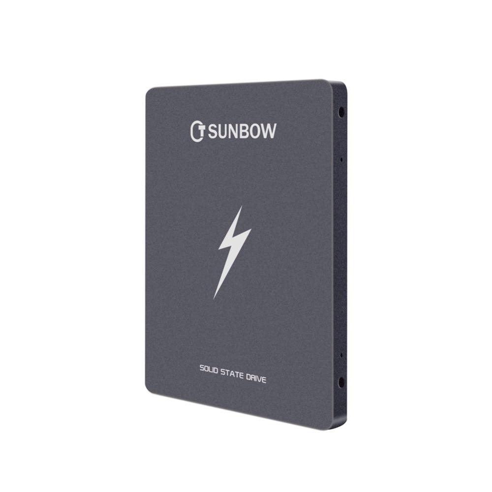 TCSUNBOW 1 To 2.5 pouces SSD SATAIII 6 GB/s jusqu'à 560 MB/s avec 1204 cache lecteur à semi-conducteurs interne pour ordinateur portable tablette ordinateur de bureau