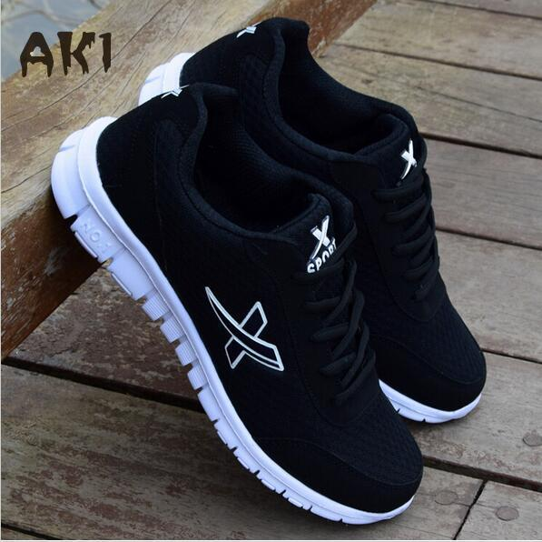 2017 New Lightweight Breathable Mesh Man Casual Shoes Adult Casuals male Men walking Shoes Zapatillas Deportivas