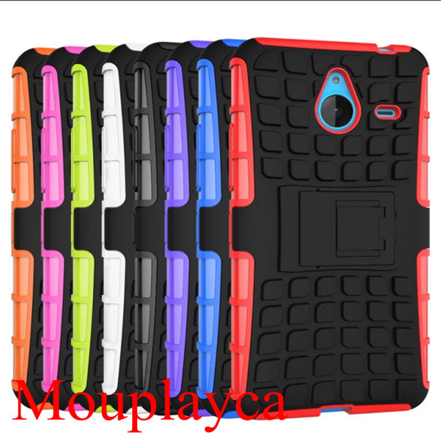 For Nokia Lumia 640 Xl Case Silicone Hard Cover Heavy Duty Armor Hybrid Rugged Rubber Phone